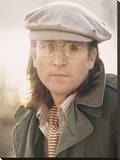 John Lennon (Sunlight - Bob Gruen) Stretched Canvas Print