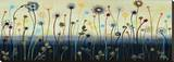 Dream Garden Stretched Canvas Print by James Brooks