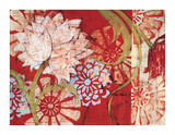 Crimson Malay I Giclee Print by Kate Birch