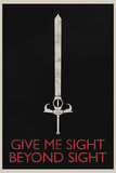 Give Me Sight Beyond Sight Retro Poster Photo