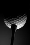 Teed Ball Fotografie-Druck von  zimmytws