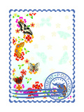 Postage Stamp. Summer Posters by  GUARDING-OWO