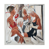 Glamour Ladies Giclee Print by Pierre Farel