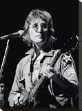 John Lennon (Live - Bob Gruen) Stretched Canvas Print