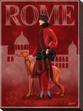 Rome Stretched Canvas Print by Tom Wood