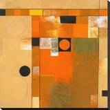 Soleil II Stretched Canvas Print by Deborah T. Colter