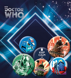 Doctor Who - Retro Badge Pack Badge