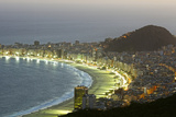Night Panoramic View Of Rio De Janeiro Photographic Print by luiz rocha