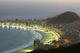 Night Panoramic View Of Rio De Janeiro Posters by luiz rocha