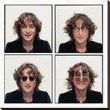 John Lennon (Quartet - Bob Gruen) Stretched Canvas Print