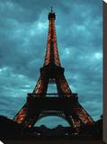 Eiffel Tower 2 Stretched Canvas Print by Brian Little