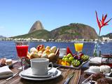 luiz rocha - Breakfast In Rio De Janeiro Fotografická reprodukce