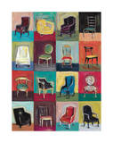 Have A Seat Giclee Print by Joe Esquibel