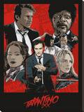 Tarantino XX (One Sheet) Stretched Canvas Print