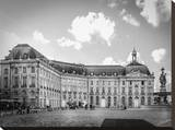 Palace In Bordeaux Stretched Canvas Print by Jack Brittain