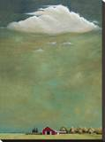 Bridgehampton Stretched Canvas Print by Steve Romm