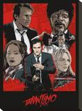 Tarantino XX (One Sheet) Stretched Canvas Print