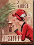 Italian Chocolate I Stretched Canvas Print by Tom Wood