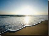 Seaside Tranquility Leinwand von AJ Messier