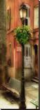 Provence Lamp Doors Leinwand von Diane Sawatzky