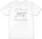 """""""We lose a little dexterity, but we gain a lot of confidence."""" - New Yorker T-Shirt T-Shirt by Paul Noth"""