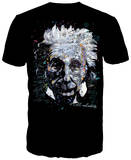 Albert Einstein - It's All Relative Shirt by Stephen Fishwick