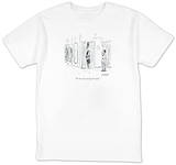 """""""It's two sizes too big, but it fits."""" - New Yorker T-Shirt T-Shirt by David Sipress"""