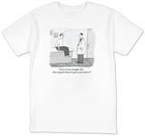 """Give it to me straight, Doc. How long do I have to ignore your advice?"" - New Yorker T-Shirt T-Shirt by Peter C. Vey"