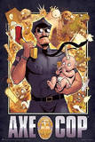 Axe Cop Cover Cartoon Poster Prints