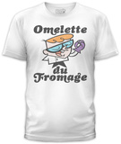 Dexter's Laboratory - Dex Omelette (slim fit) T-Shirt