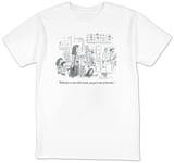 """With four or more kids' meals, you get a shot of bourbon."" - New Yorker T-Shirt Shirts by Danny Shanahan"