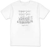"(""Herbal Tea Party"") - New Yorker T-Shirt T-shirts by Barbara Smaller"