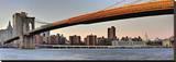 Bridge Stretched Canvas Print by AJ Messier