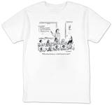 """""""What about business—which branch is that?"""" - New Yorker T-Shirt Shirts by David Sipress"""