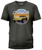 General Motors - Vintage Corvette (slim fit) T-Shirt