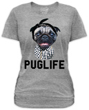 Juniors: Goodie Two Sleeves - Puglife T-shirt
