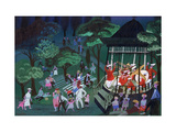 Bandstand Giclee Print by Mary Blair
