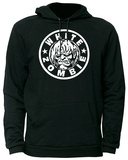 Hoodie: White Zombie - Classic Zombie Logo Pullover Hoodie