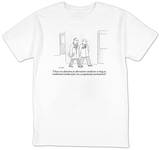 """I have no objection to alternative medicine so long as traditional medica…"" - New Yorker T-Shirt Shirt by Robert Mankoff"