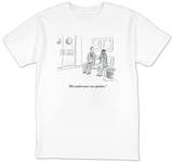 """His underwear was spotless."" - New Yorker T-Shirt T-Shirt by Danny Shanahan"