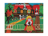 Ginger Bread House Giclee Print by Mary Blair