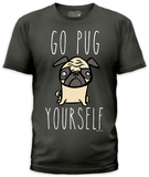 Jim Benton - Go Pug Yourself (slim fit) T-shirts