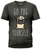 Jim Benton - Go Pug Yourself (slim fit) Shirts