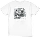 """It's either this or a country run by lawyers."" - New Yorker T-Shirt T-Shirt by Frank Cotham"