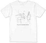 """It's your ribs. I'm afraid they're delicious."" - New Yorker T-Shirt T-shirts by Paul Noth"