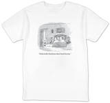 """I had another bad dream about Social Security."" - New Yorker T-Shirt Shirts by Michael Maslin"