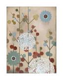 Mod Blossom Giclee Print by Sally Bennett Baxley