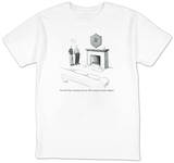 """New York Times, Saturday crossword, 1999, twenty-two minutes, ballpoint"" - New Yorker T-Shirt T-shirts by Julia Suits"
