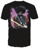 Jimi - 16 Color T-Shirt by Stephen Fishwick