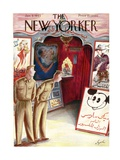 The New Yorker Cover - January 9, 1943 Regular Giclee Print by Constantin Alajalov
